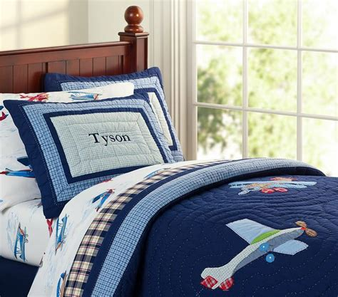 airplane bedding twin pottery barn kids plane bedding big boy bedroom ideas