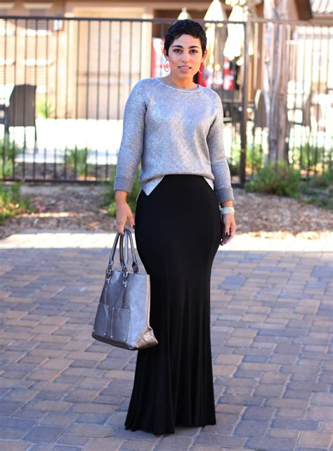 diy skirt daytime sparkle sweater fashion lifestyle