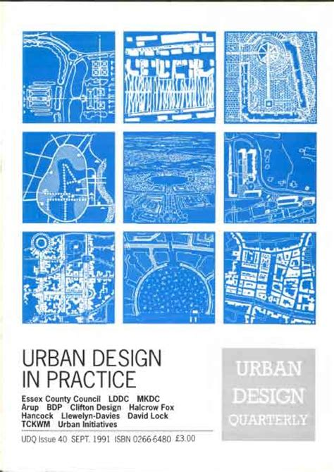 urban design journal urban design 40 september 1991 urban design