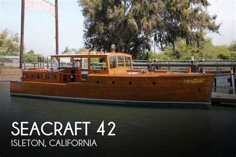 project boats for sale california canceled seacraft 42 boat in isleton ca 073100