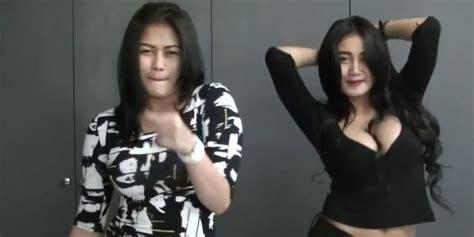 tato bismillah di dada duo serigala goyang drible duo serigala bikin heboh netizen sooperboy com