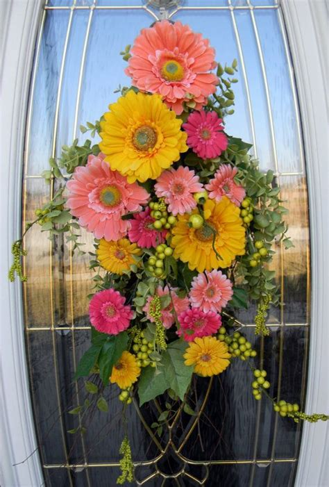 How To Make A Spring Door Swag