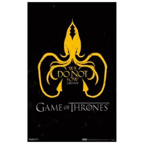 house greyjoy words game of thrones house greyjoy poster 11 215 17 george r r martin