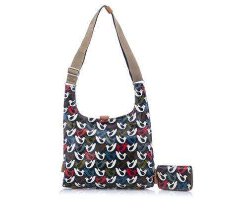 Zip Sling Bag orla kiely midi sling bag with zip purse page 1 qvc uk