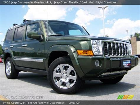 2008 Jeep Commander Overland For Sale Jeep Green Metallic 2008 Jeep Commander Overland 4x4