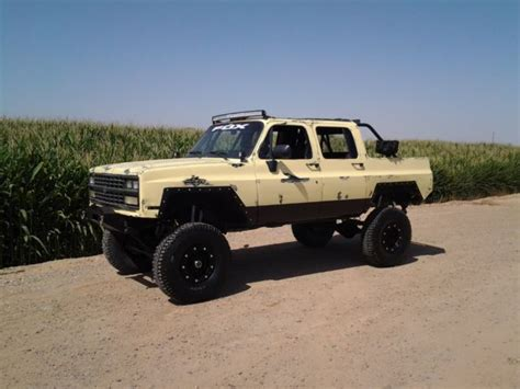 chevrolet jeep 1990 chevy 4x4 lifted 4x4 jeep rat rod shop truck
