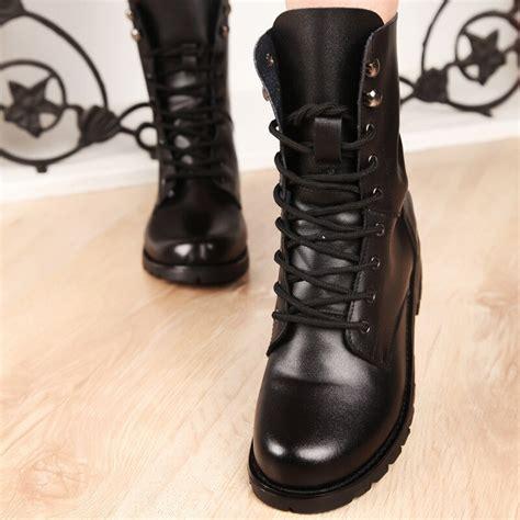 bayanlar ayakkabi boyutu dantel ile  yeni deri askeri