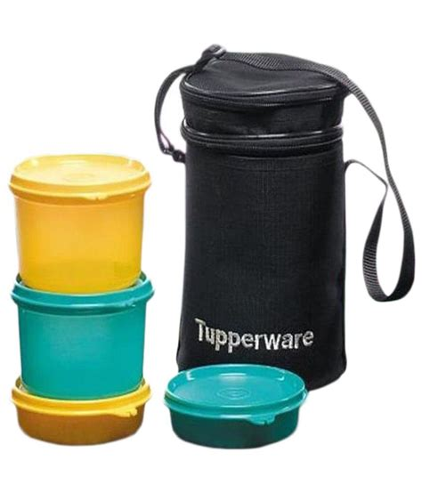 Tupperware Lunch Set executive lunch tupperware insulated bag price at flipkart