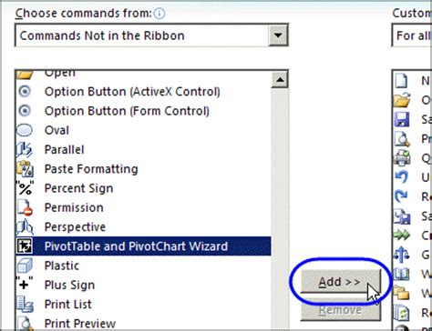 Pivot Table Wizard by How To Add Chart Wizard In Excel 2007 What Happened To