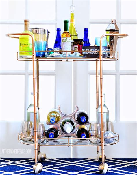 bar cart ideas and a home goods giveaway at the