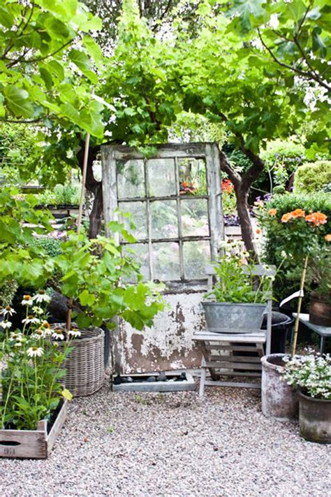 Backyard Door Ideas 17 Shabby Chic Garden For Feel House Design And Decor