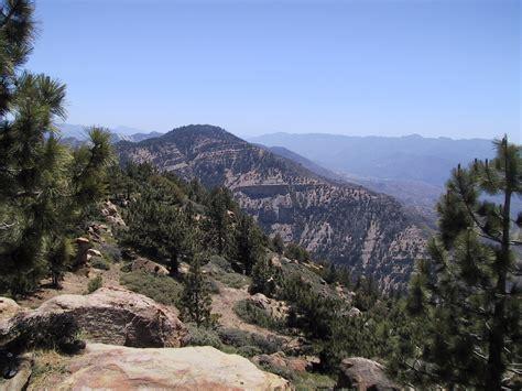 sierra peaks section southern california hiking reyes peak and haddock