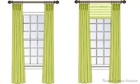 Roman Shade Rings - the best way to hang draperies or curtains newton custom interiors