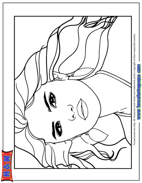 hair coloring pages free free coloring pages of hair salon
