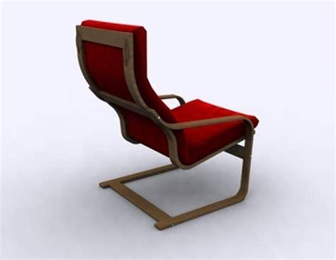 poang armchair review armchair poang 3d model