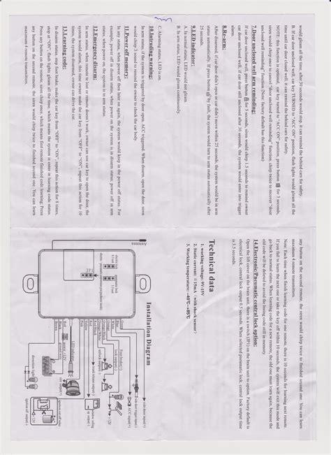 Alarm Motor 5000m 5000m car alarm wiring diagram efcaviation