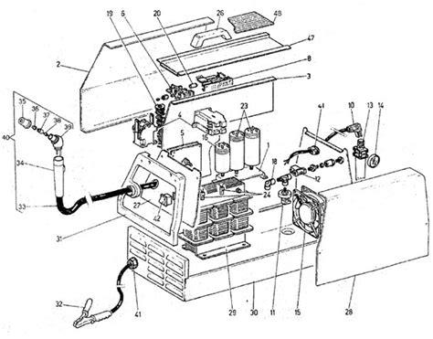 plasma cutter diagram ya2225 snap on 25 plasma cutter