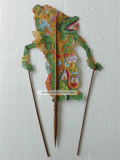möbel aus indonesien schattenspielfigur wayang kulit aus indonesien nms05a