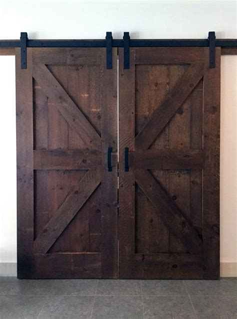 Dyi Barn Door Tutorial Diy Barn Door Stonewood Products La Casa Design Studio