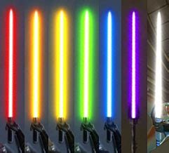 kotor lightsaber colors wars the republic lightsaber colors