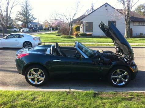 pontiac solstice gas mileage purchase used 2008 pontiac solstice 2 4l 5 speed low