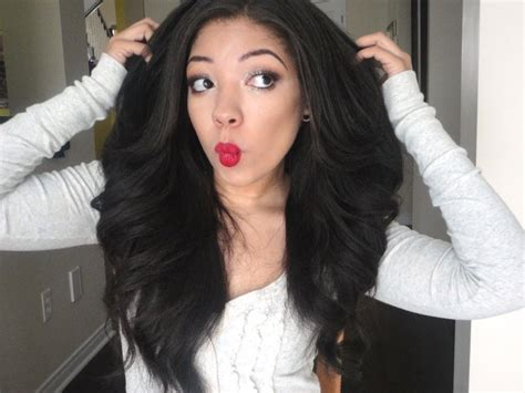 my big glam waves curls with a flat iron tutorial youtube