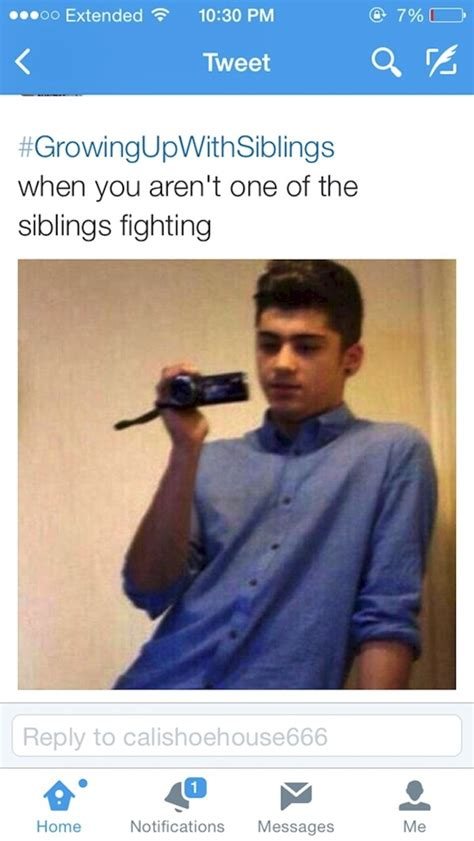 Siblings Fighting Meme - growing up with siblings funny twitter images funny