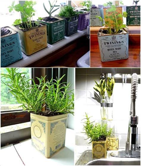 how to make an indoor herb garden 10 cool diy ideas to grow an indoor herb garden