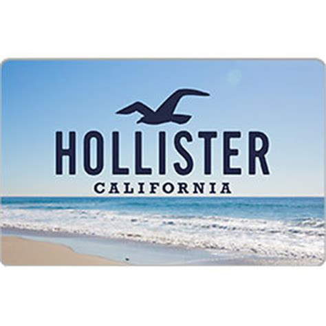 Gift Card Hollister - hollister co gift card 25 50 or 100 email delivery ebay