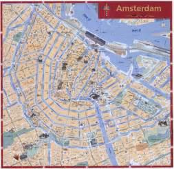 netherlands map amsterdam tourist map amsterdam netherlands mappery