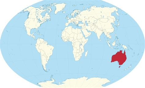 australia on the map australia world map australia on the world map
