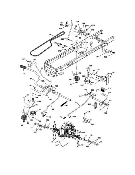 craftsman drive belt diagram i a craftsman 917 28990 26 hp tractor the drive belt