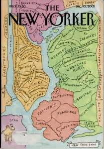 a vagabond s maps mental map the new yorker december