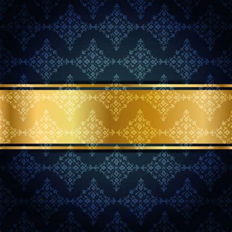 Kaos 3d Elengant Murah Go Logo Navy ornate vip gold background vector 04 vector background free