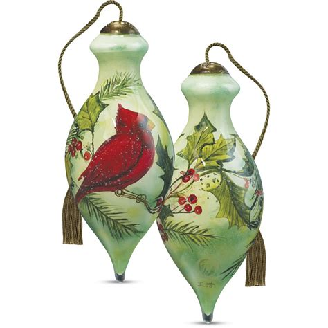 christmas gifts holly cardinal artist susan winget