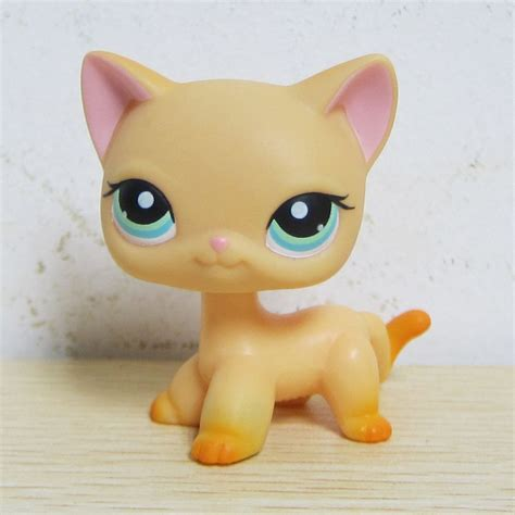 lps dogs littlest pet shop collection lps 339 yellow hair kitten cat ebay