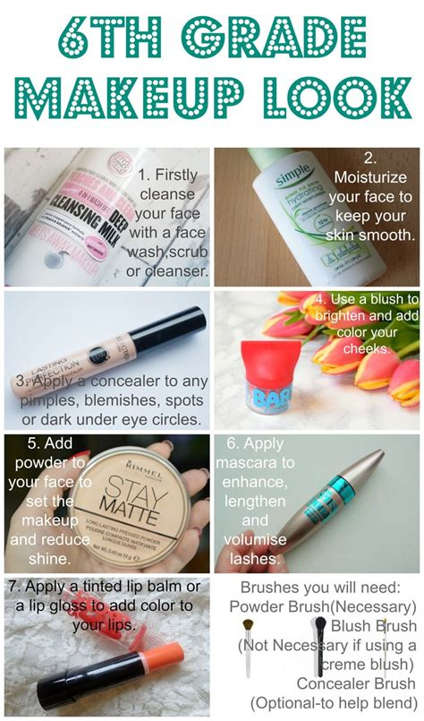7 Steps For A Faster Makeup Routine by How To Make Your Makeup For School Saubhaya Makeup
