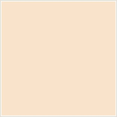 what is the colour of f9e3cb hex color rgb 249 227 203 chagne orange