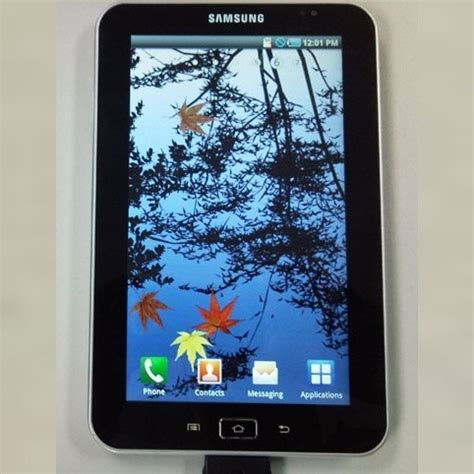 Samsung Tab P1000 Terbaru samsung galaxy tablet p1000 more specs revealed