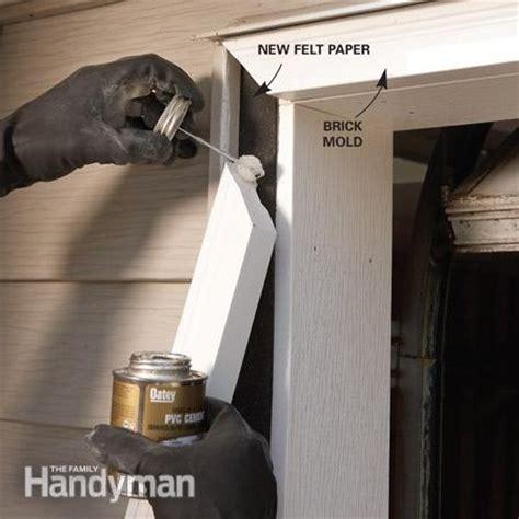 Outward appearance of your garage by installing vinyl garage door trim