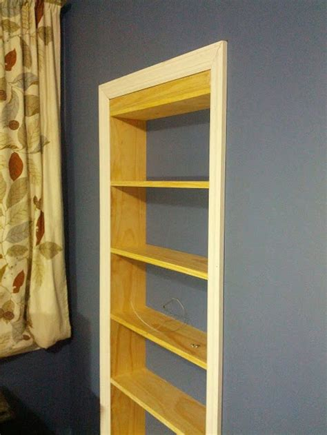 diy hidden storage diy hidden door bookcase trimming what a great idea