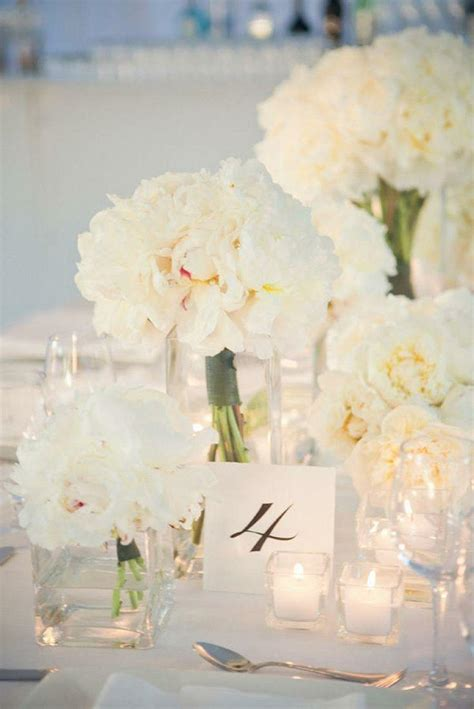 white wedding flowers gorgeous white flowers and table setting 2059254 weddbook