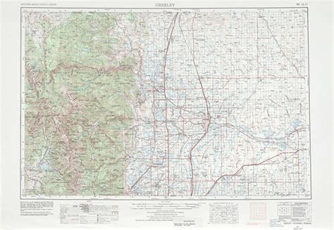 topo map of colorado greeley topographic maps co usgs topo 40104a1 at 1