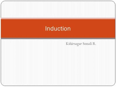 inductor types ppt inductor working ppt 28 images inductor working ppt 28 images induction strategies inductor
