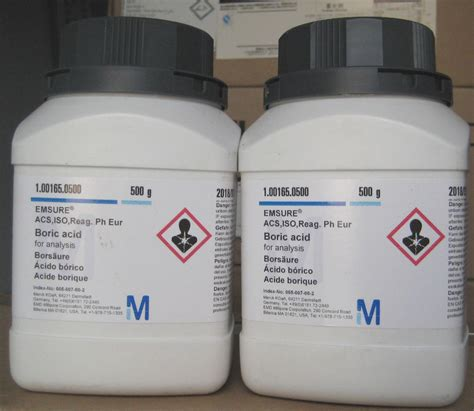 Asam Borat Merck sell boric acid from indonesia by cv juma purba cheap price