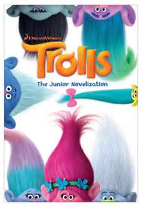 Dvd Barnes And Noble Trolls The Junior Novelization Dreamworks Trolls By