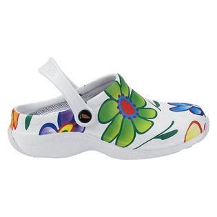 veggies womens shoes sandals veggies s garden big flower white multi clothing