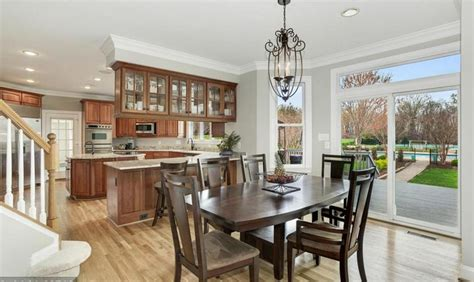 Colonial Kitchen Lansdowne by 1 85 Million Colonial Mansion On 22 Acres In Leesburg Va Homes Of The Rich The 1 Real