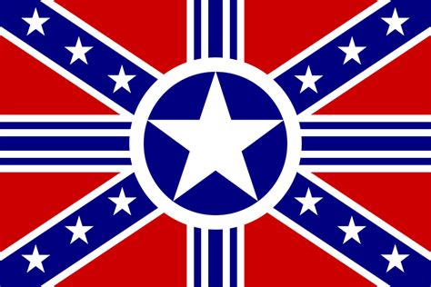 rebel flag touch l the second confederacy alternate history discussion board
