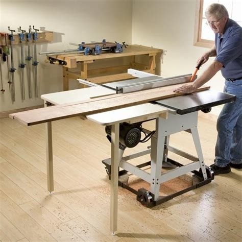 woodworking contractor rockler table saw outfeed table contractor table saws